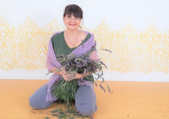 Lavendel Yoga