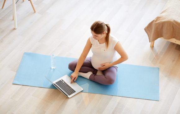 NEU! ONLINE Yoga für Schwangere mittwochs 17.00-18.30 Uhr